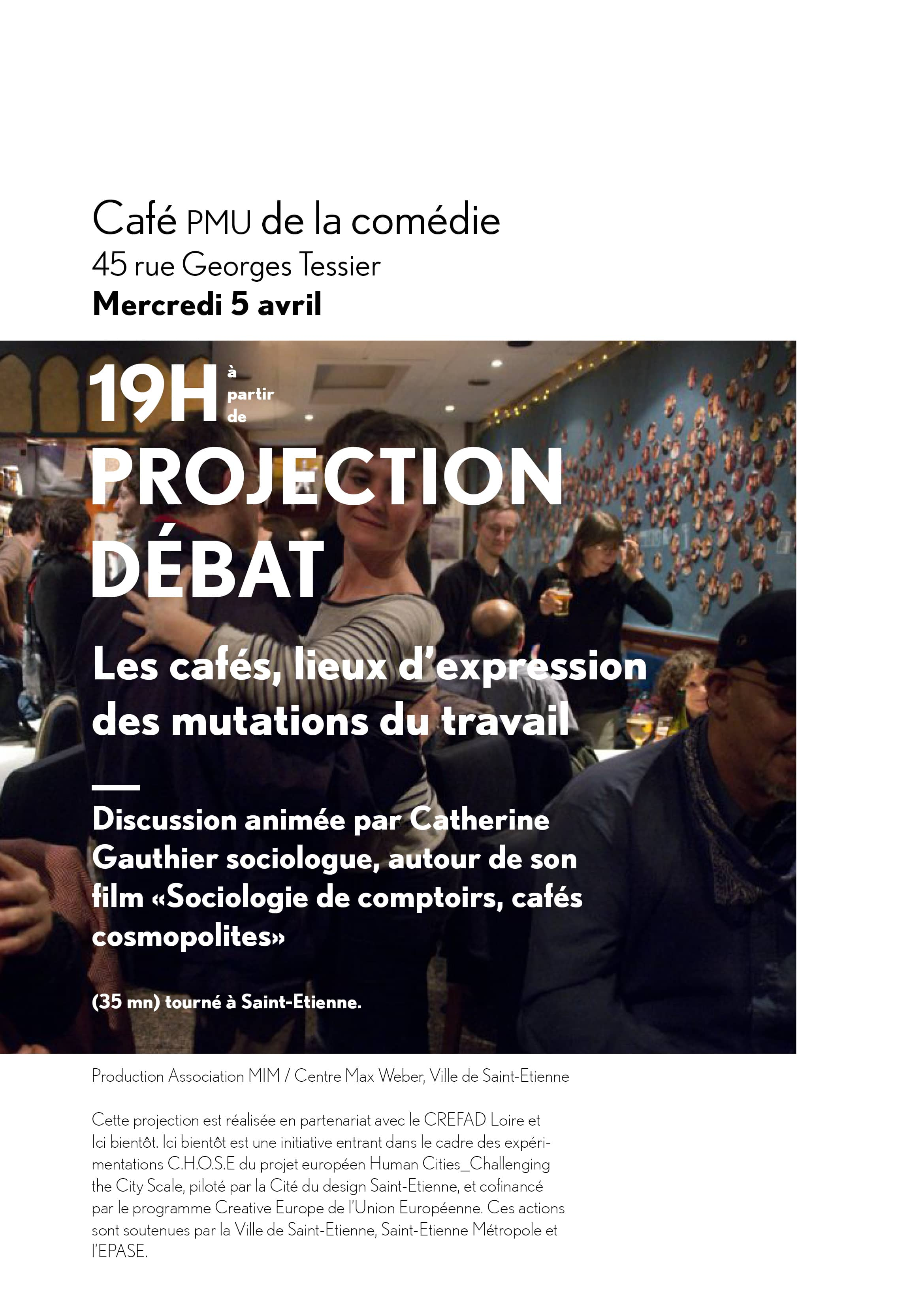 Film cafe de la comedie