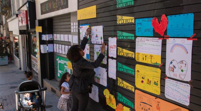 La ville vue par vos enfants – Animation de temps périscolaire à l'Ecole de Tarentaize